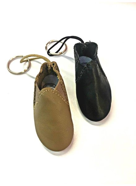 Pillows for Pointes Mini Slip On Jazz Boot Key Chain