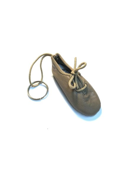 Pillows for Pointes Mini Lace Up Jazz Shoe Key Chain