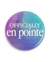 B Plus Printworks Officially En Pointe Pocket Mirror (Blue/Tea/Purplel)