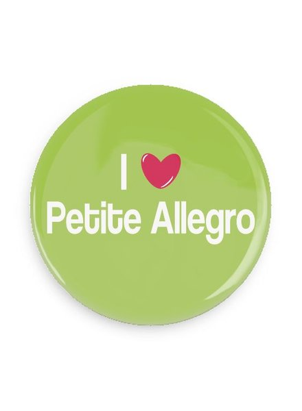 B Plus Printworks I Heart Petite Allegro Pocket Mirror