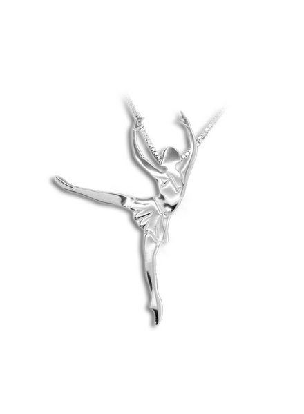 Mikelart Jewel Danza Arabesque Balanchine Necklace