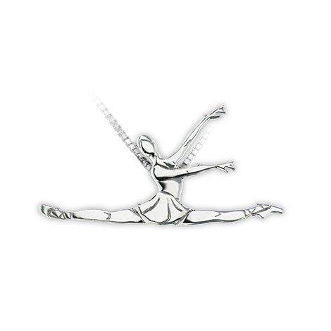 Mikelart Dancer Jewel Grande Jeté Necklace