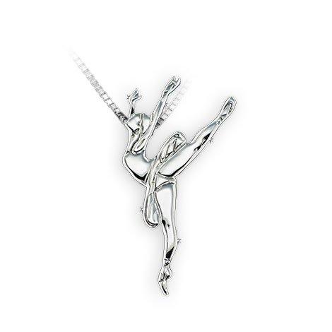 Mikelart Dancer Jewel Arabesque Necklace
