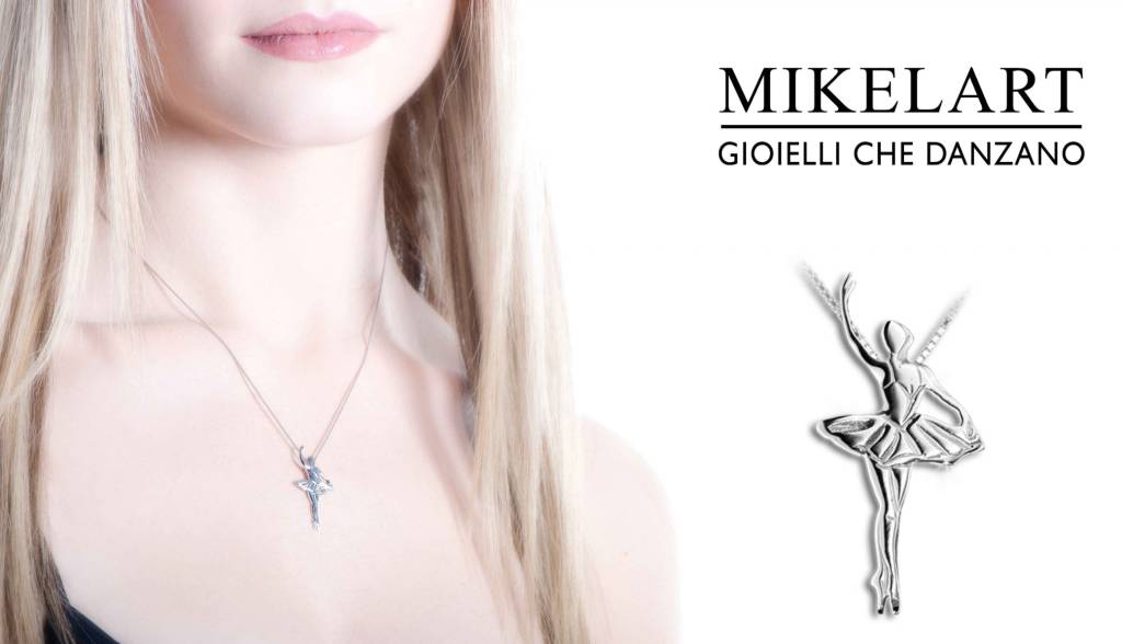 Mikelart Gioiello Danza Relevé Necklace