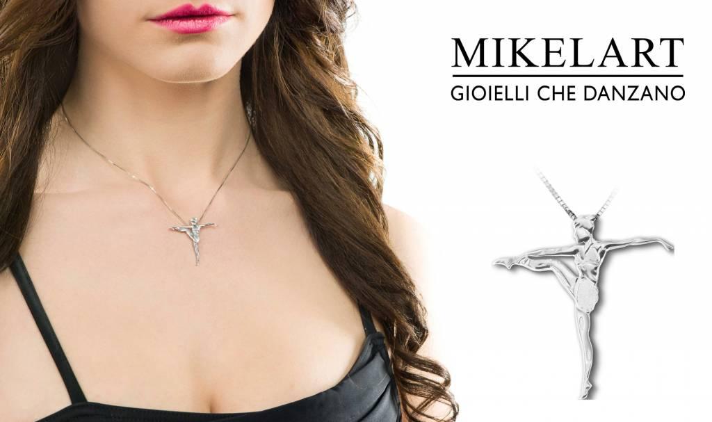 Mikelart Gioiello Modern Dance Necklace
