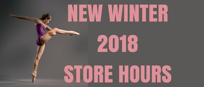 New Winter 2018 Store Hours