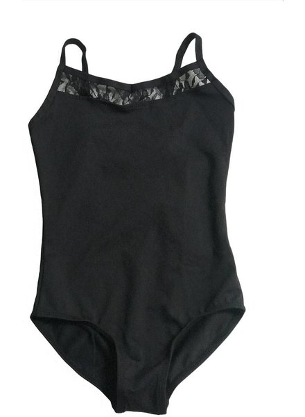 Kid's Camisole Leotard with Lace