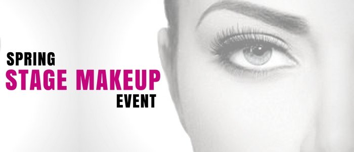 Spring Stage Makeup Event