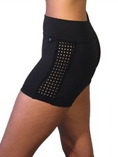 Jule Dancewear Dot Mesh Short