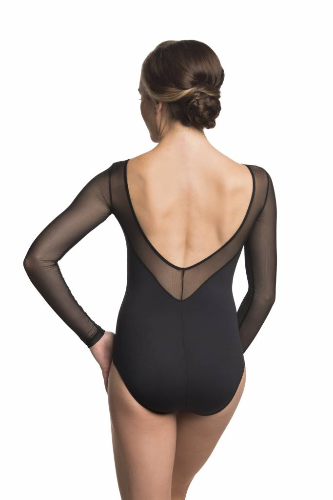 Ainsliewear Nadia with Black Mesh