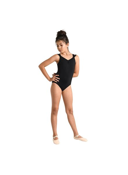 Kid's Flat Satin Camisole leotard