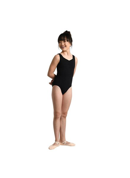 Danshūz Kid's Looping Back Strap Leotard