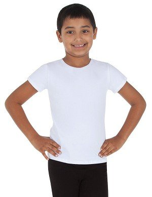 Body Wrappers Body Wrappers Boys' Short Sleeve Shirt