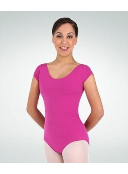 Body Wrappers Short Sleeve Basic Leotard