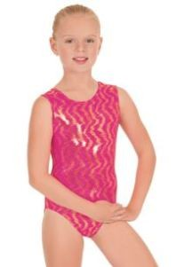 Eurotard Child Holographic Waves Leotard