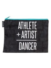 Sugar and Bruno Athlete + Artist Aqua Kiss & Make-Up Bag