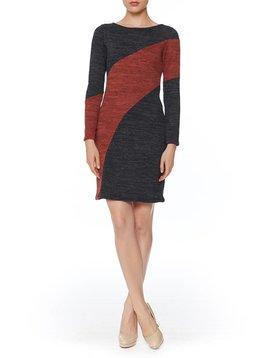 PAPILLON BLANC LONG SLEEVE SHIFT DRESS