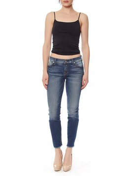 SEVEN SEVEN THE ANKLE SKINNY W/RAW HEM