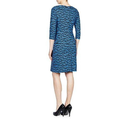PAPILLON BLANC 3/4 SLEEVE SHIFT DRESS