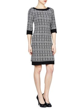 PAPILLON BLANC REVISIBLE SHIFT DRESS