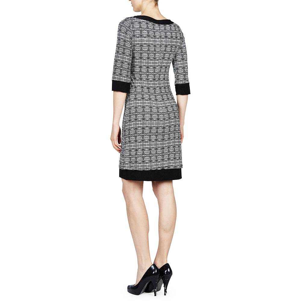 PAPILLON BLANC REVISIBLE SHIFT DRESS