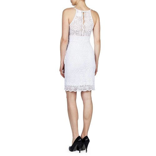 PAPILLON BLANC LO CUT FITTED DRESS