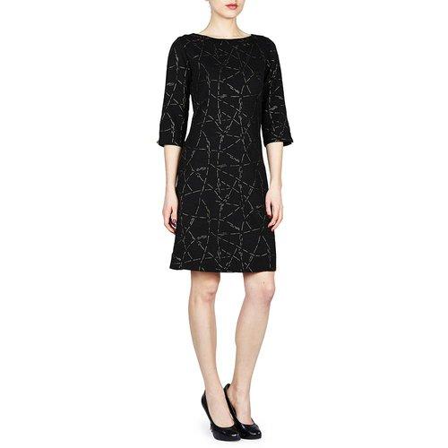 PAPILLON BLANC SHIFT DRESS 3/4 SLEEVE