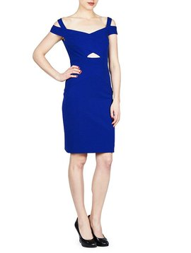 NICOLE MILLER NICOLE MILLER COLD SHLDR DRESS