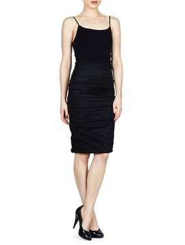 NICOLE MILLER RUCHED SKIRT