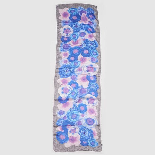 ECHO PARIS FLORAL OBLONG SCARF