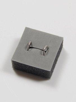 AMORIUM AMORIUM MINI DIAMOND LEXI HOOP