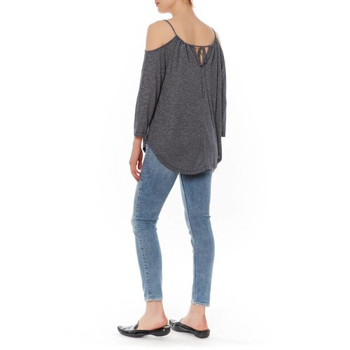 MICHAEL STARS FRONT TO BACK SHOULDER TEE