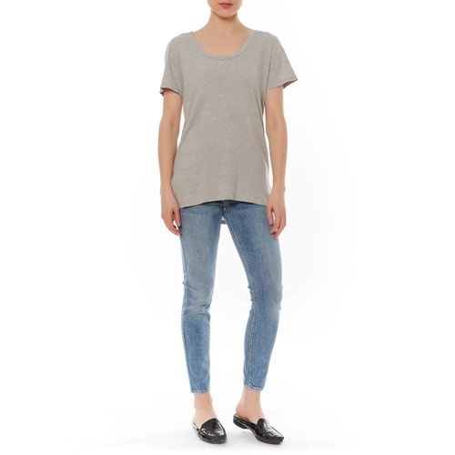 BOBI BOBI HIGH LOW SLIT TEE