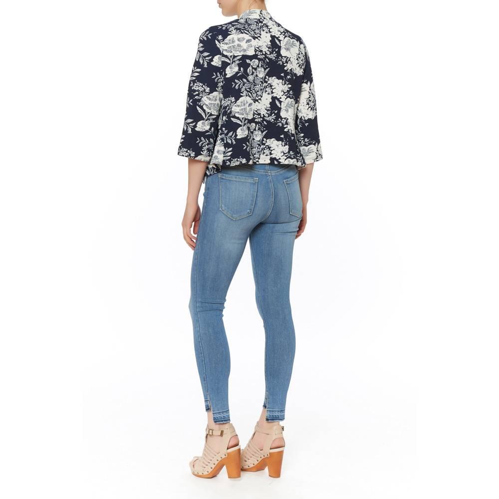 PAPILLON BLANC Floral Jacket