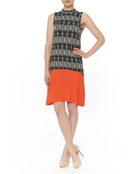 THML MK NK PRINT DRESS