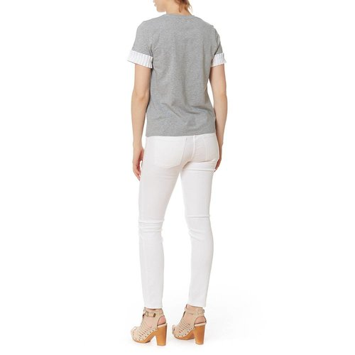 AFTER MARKET PLEAT CUFF S/S TOP