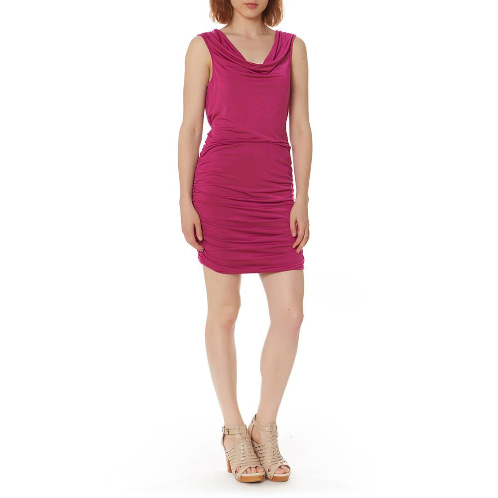 BOBI BOBI SHIRRED SIDE DRESS