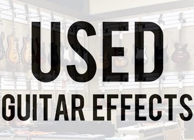 Used Guitar Effects