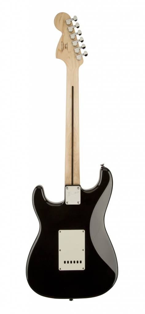 Squier Deluxe Series Hot Rails Stratocaster - Black