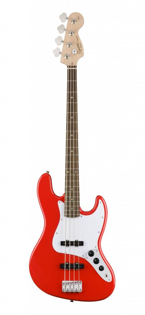 Squier Affinity Series Jazz Bass - Race Red