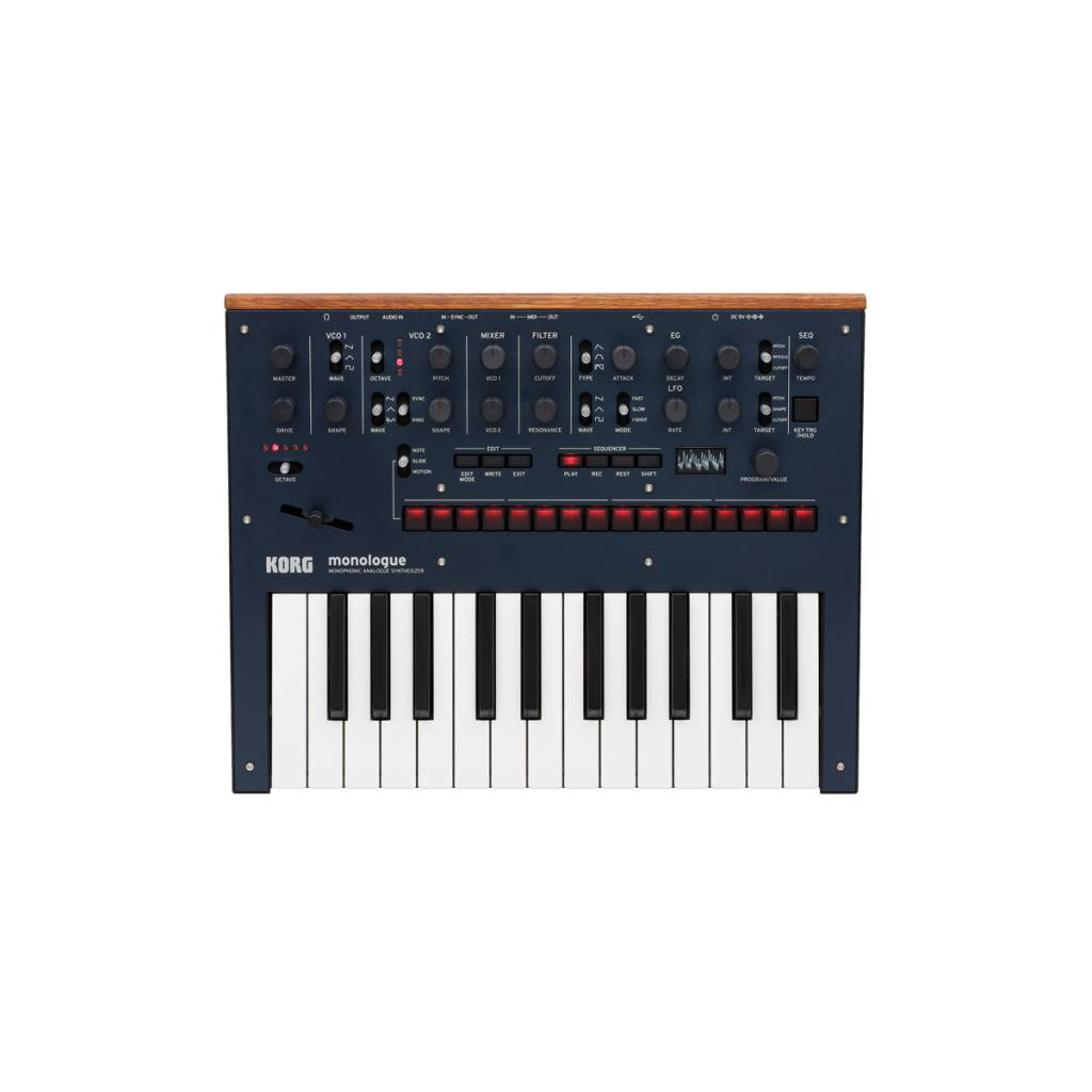 Korg Korg monologue Monophonic Analogue Synthesizer - Blue