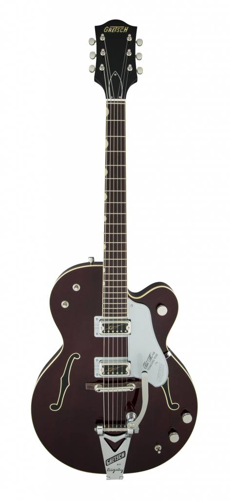 Gretsch Gretsch G6119T-62 Vintage Select Edition '62 Tennessee Rose™ Hollow Body with Bigsby - Dark Cherry Stain