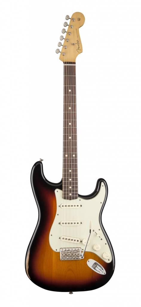 Fender Classic Series Road Worn '60s Stratocaster - 3-Color Sunburst