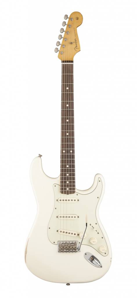 Fender Classic Series Road Worn '60s Stratocaster - Olympic White