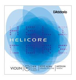 D'Addario D'Addario H310M Helicore Violin Set Strings 4/4 Medium