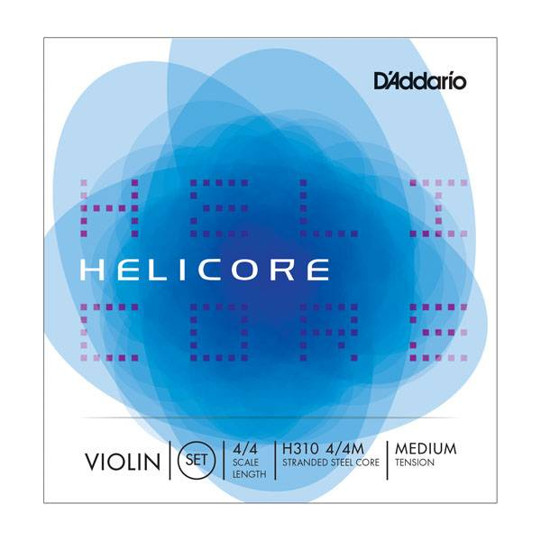 D'Addario D'Addario H310M Helicore Violin Set Strings 4/4 Medium