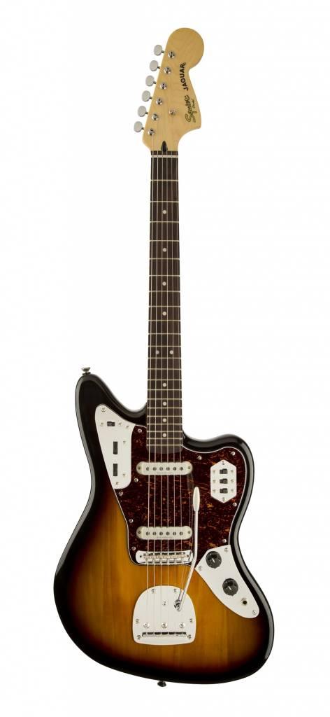 Squier Squier Vintage Modified Jaguar - Three Tone Sunburst