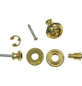 Dunlop Dunlop Dual Design Straplock System - Brass