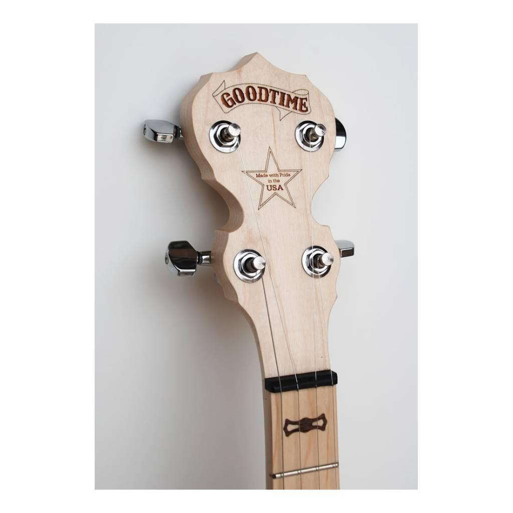 Deering Deering Goodtime Two Resonator Banjo - Free Gig Bag!