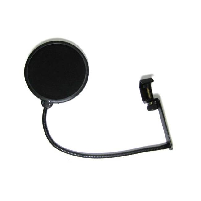 Nomad Nomad NPF-J561 Studio Pop Filter Clamp Mount with 6-Inch Screen and 13-Inch Gooseneck